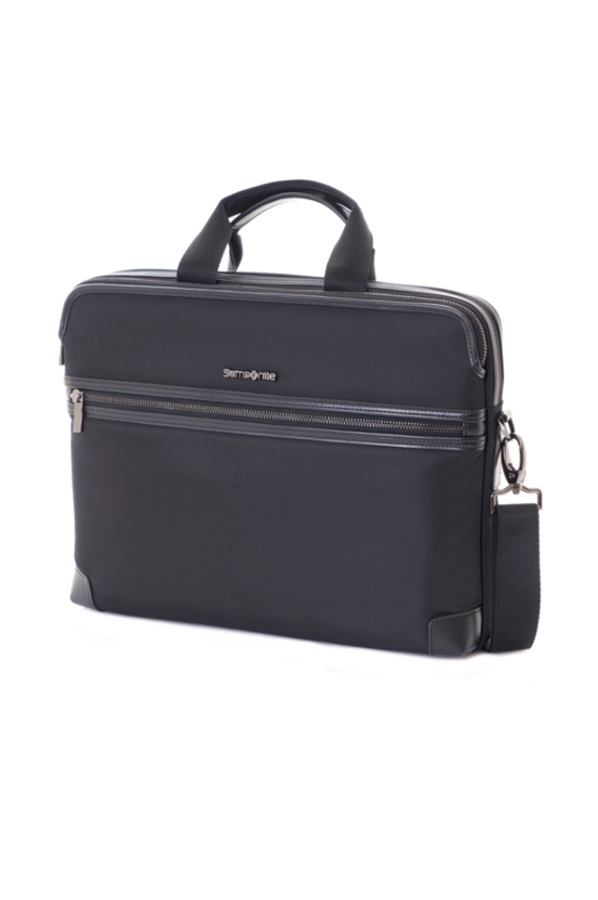 Zeppa Laptop Briefcase S Black large | Samsonite