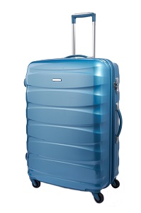 Samsonite Oval Spinner 66cm/24inch Exp Sky Blue medium | Samsonite