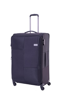Samsonite Cubix Spinner 55cm/20inch Black medium | Samsonite