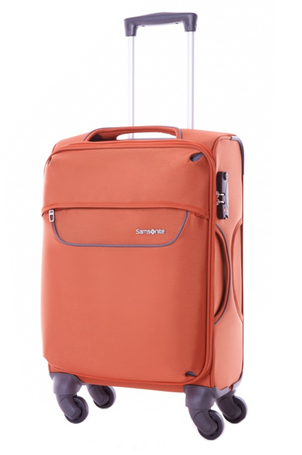 Samsonite Jet-Liter Spinner 67cm/24inch Exp Sunset Orange large | Samsonite