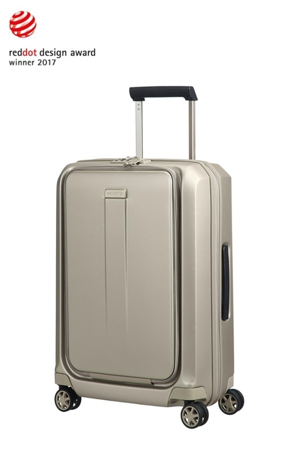 Samsonite Prodigy Spinner 55cm/20inch  Ivory Gold large | Samsonite
