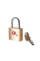 American Tourister AT Accessories TSA Brass Key Lock