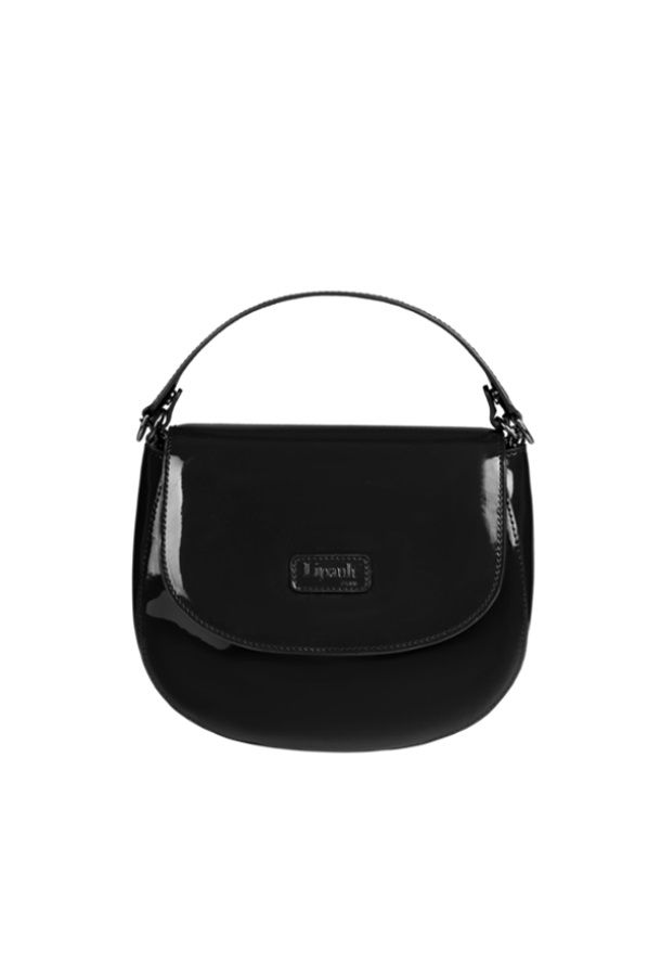 Lipault Plume Vinyle Saddle Bag