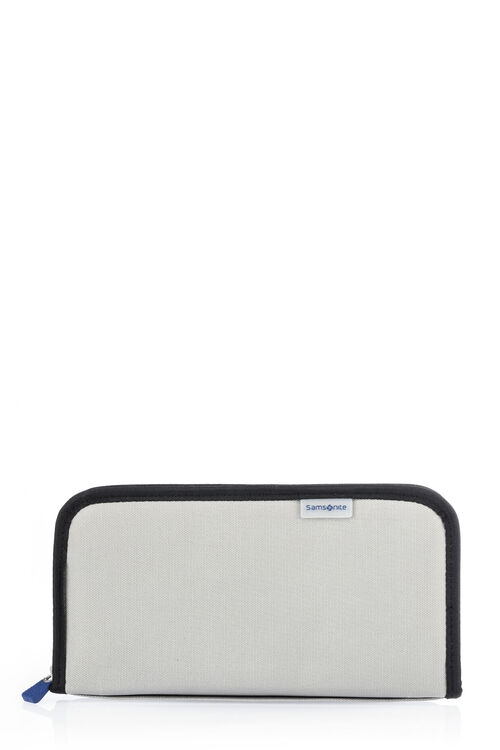 TRAVEL ESSENTIALS ZIPPED TRAVEL WALLET RFID  hi-res | Samsonite