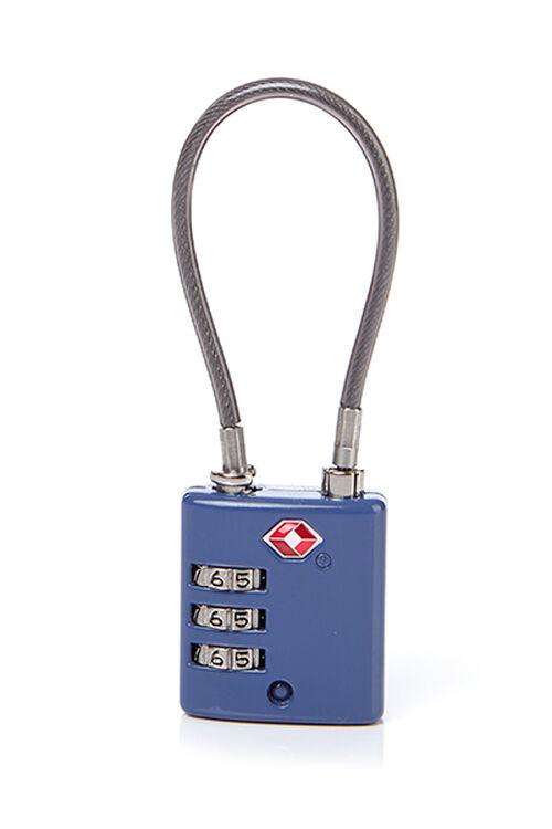TRAVEL ESSENTIALS TSA三位數字鋼索密碼鎖  hi-res   Samsonite