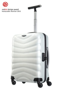 Samsonite Firelite Spinner 55cm/20inch Off White medium | Samsonite