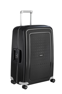 Samsonite S'Cure Spinner 69cm/25inch Black medium | Samsonite