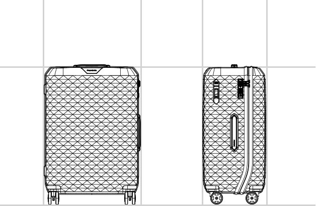 SPINNER 61/22  dimension | Samsonite