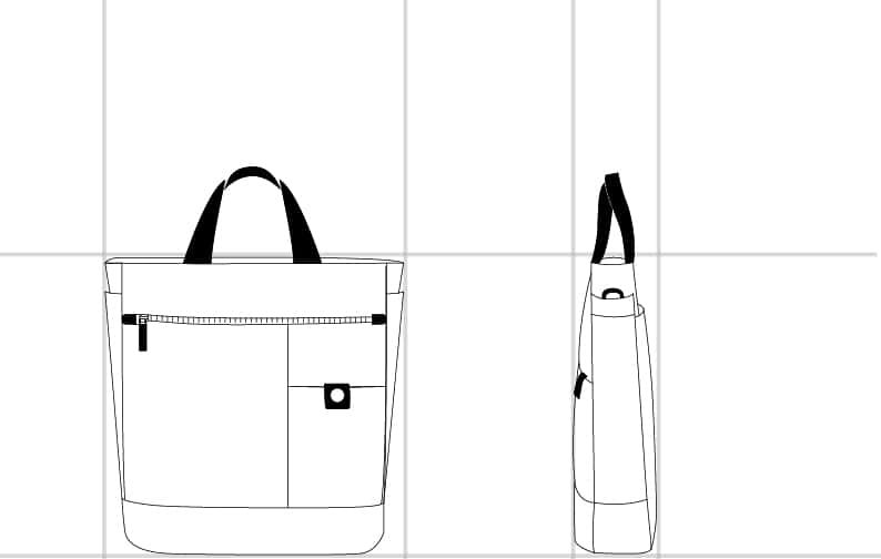 TAEBER TOTE  dimension | Samsonite