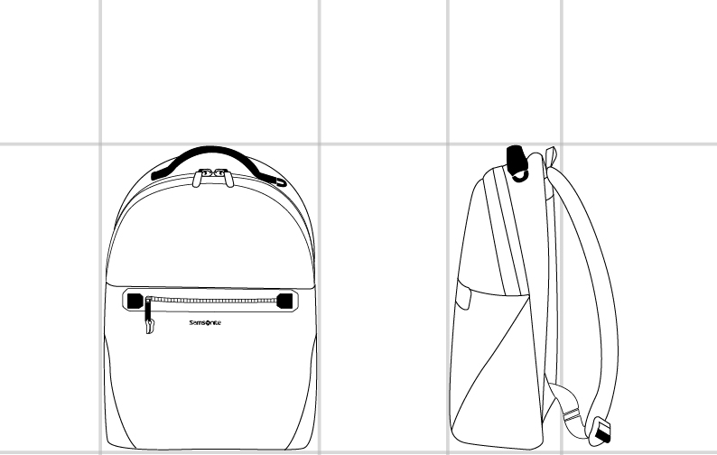 BACKPACK  dimension | Samsonite